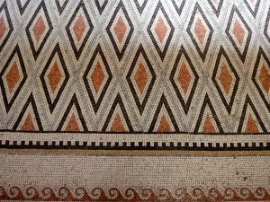 Norman Williams - Church of the Beatitudes - mosaic floor - 130518